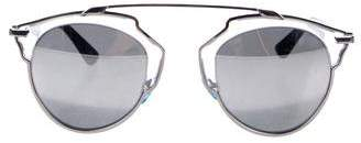 f61e92cbeb Pre-Owned at TheRealReal · Christian Dior So Real Mirrored Sunglasses