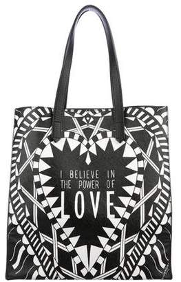 d378bd6906 Pre-Owned at TheRealReal Givenchy The Power Of Love Leather Tote