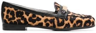 MICHAEL Michael Kors leopard loafers