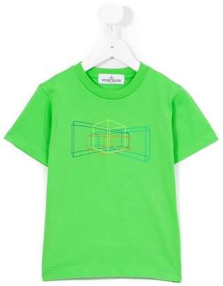 Stone Island Junior print T-shirt