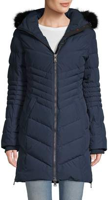 Pajar Fox Fur-Trimmed Down-Filled Coat