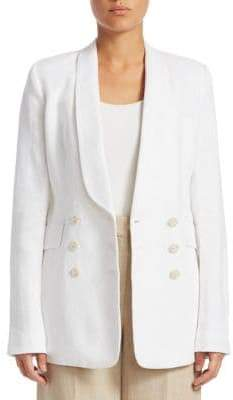 Theory Shawl Collar Linen Blazer