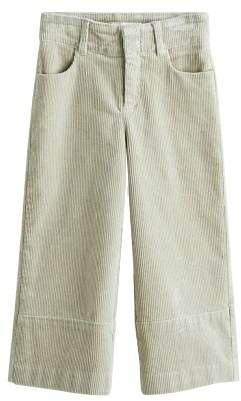 MANGO Flared corduroy trousers