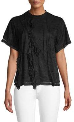Ruffle Lace T-Shirt