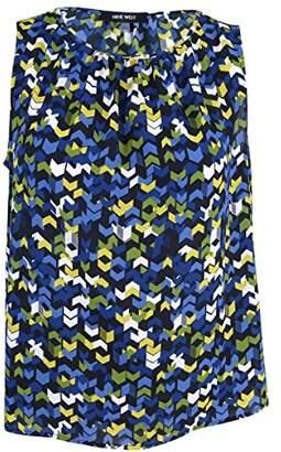 Nine West Women's Wool Print Dobby Cami