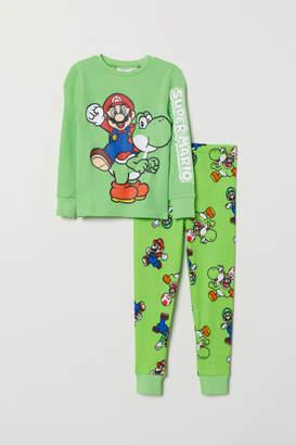 H&M Jersey Pajamas - Green