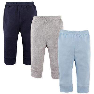 3-Pack Tapered Pants in Blue/Grey