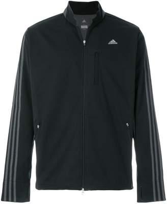 adidas stripe sleeve track jacket