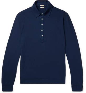 Massimo Alba Ischia Cotton-Jersey Polo Shirt
