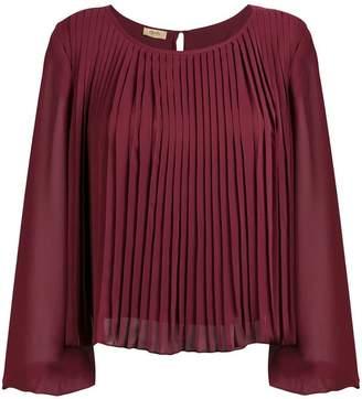 Liu Jo pleated boxy blouse