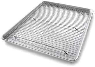 USA Pans 3 Piece Non-Stick Half Sheet Baking Rack Set