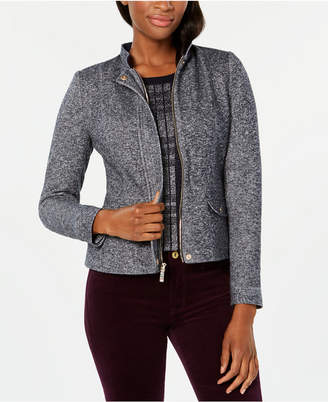 Tommy Hilfiger Marled Elbow-Patch Jacket, Created for Macy's