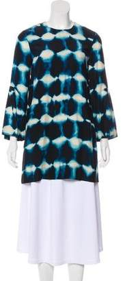 Elizabeth and James Silk Tie-Dye Tunic