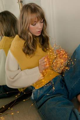 J.ING Chromine Yellow Knit Sweater