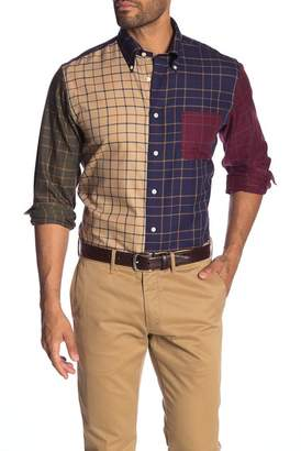 Brooks Brothers Check Colorblock Classic Fit Shirt