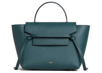 4a0769935efdd Celine Top Handle Belt Bag Grained Micro Amazone