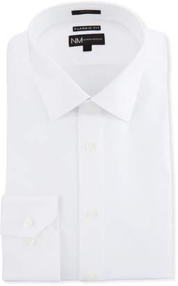 Neiman Marcus Men's Classic-Fit Regular-Finish Dobby Texture Dress Shirt
