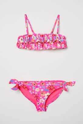 H&M Bikini with Ruffles - Pink
