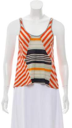 Proenza Schouler Sleeveless Scoop Neck Top