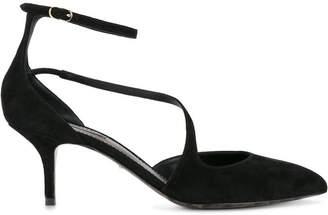 Dolce & Gabbana Black Suede Bellucci décolleté 70 pumps