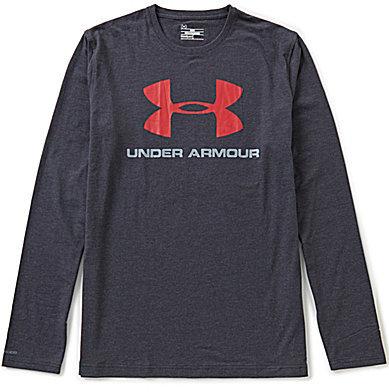 Under Armour Sportstyle Logo Long-Sleeve Tee