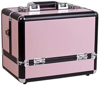 Craft Accents 3-Tiers Accordion Trays Makeup Cosmetic Case