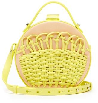 Nico Giani - Tunilla Braided Leather Bag - Womens - Yellow Multi