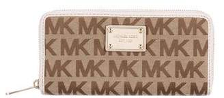 MICHAEL Michael Kors Michael Kors Monogrammed Continental Wallet
