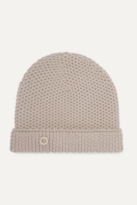 Loro Piana Rougemont Crocheted Cashmere Beanie - Mushroom