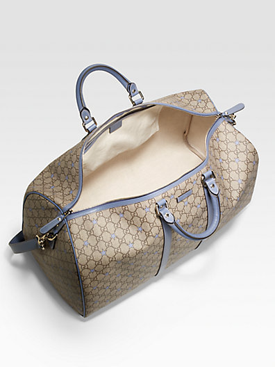 Gucci Large GG PU Stars Fabric Carry-On Duffel
