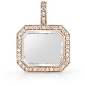 Walters Faith Bell 18K, Diamond And Rock Crystal Charm