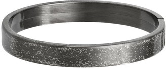 Italian Silver Brushed Bangle, 14.0g