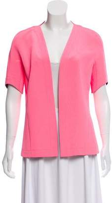 Narciso Rodriguez Short Sleeve Open Jacket