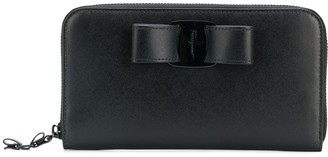 Salvatore Ferragamo zip fastened purse