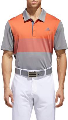 adidas Ultimate 365 Colorblock Jersey Polo