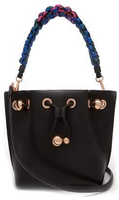 Sophia Webster Romy Mini Leather Bucket Bag - Womens - Black Multi