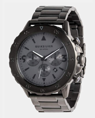 Quiksilver Mens B-52 Chrono 50mm Stainless Steel Watch