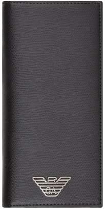 Emporio Armani Leather Long Wallet