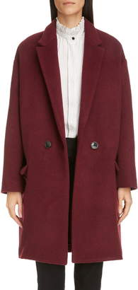 Isabel Marant Virgin Wool & Cashmere Blend Coat