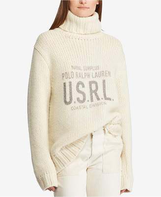 Polo Ralph Lauren Graphic Turtleneck