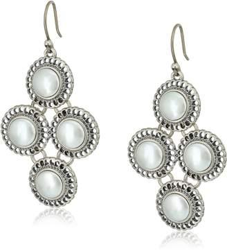 Lucky Brand Small Pearl Chandelier Earrings