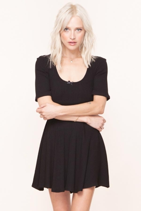 Tripp For Love and Lemons Dress in Black
