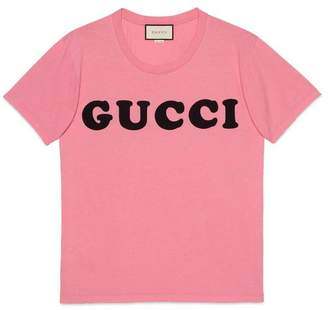 Gucci Oversize T-shirt with print