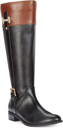 Karen Scott Deliee Wide-Calf Riding Boots, Created for Macy's Women's Shoes $79.50 thestylecure.com