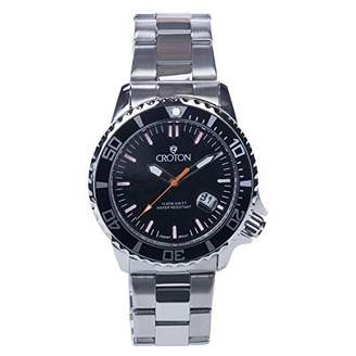 Croton Men's Quartz Stainless Steel Watch