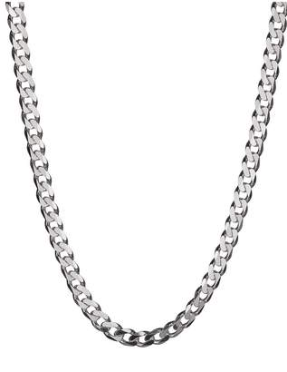 DAY Birger et Mikkelsen The Love Silver Collection Sterling Silver 2oz Solid Diamond-Cut 18 Inch Curb Chain