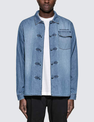 White Mountaineering 6oz Denim Kung Fu Shirt
