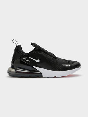 Nike Mens Air Max 270 Sneakers in Black and Anthracite White