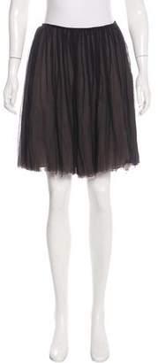 Martin Grant Silk Layered Skirt