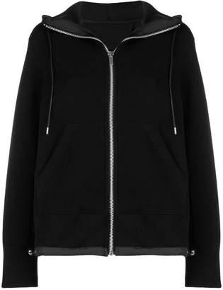 Sacai zip fornt hoodie